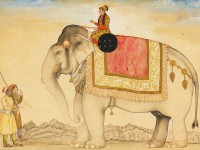 Royal Elephants from Mughal India