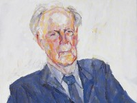 Portrait of Michael Sullivan by Luo Er'chun (Museum number: LI2022.215)