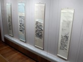 Chinese Paintings Gallery - Chinese Landscapes exhibition hanging scrolls. © Ashmolean Museum, University of Oxford
