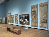 Special Exhibitions Gallery 4 - Threads of Silk and Gold exhibition. © Ashmolean Museum, University of Oxford