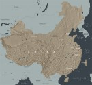 Map of China. © Ashmolean Museum, University of Oxford