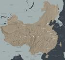 Map of China. © Ashmolean Museum, University of Oxford