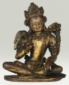 Fig. 22. Vajrapani (front). Cast gilt copper. H. 11.4 cm. Private collection, Caption, Photo courtesy of Tibet Museum, Fondation Alain Bordier [online edition]. © Tibet Museum, Fondation Alain Bordier