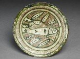 Dish with incised fish