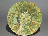 Dish with radial decoration (EA1956.182)