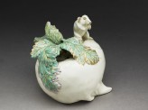 Satsuma box in the form of a rat sitting on a turnip (EA1956.695)