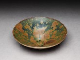 Black ware bowl with iron glazes (EA1956.1410)