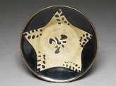 Black ware bowl with star (EA1956.1427)