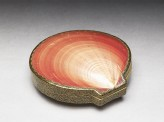 Kōgō, or incense box, made from a Venus shell