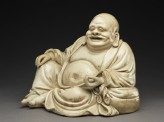 Satsuma figure of Hotei (EA1956.3995)