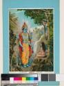 The Immutable Vishnu appearing to a rishi, or wise man