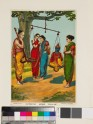 The weighing of Krishna