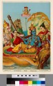 Vishnu reclining on the serpent Shesha