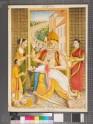 Narasimha disembowelling the demon Hiranyakashipu