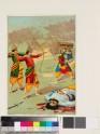 Rama and Lakshmana doing battle with Ravana
