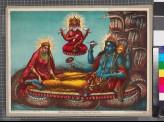 Lakshmi attending her husband