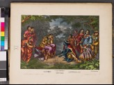 The breaking of Radha's pride