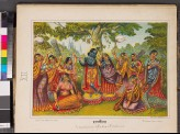 Rasa-lila, the dance of Krishna and the gopis