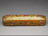 Qalamdan, or pen box, with birds and flowers