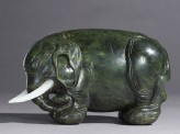 Jade figure of an elephant