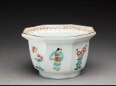 Bowl depicting Chinese boys playing musical instruments