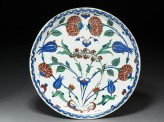 Dish with roses and tulips (EA1978.1423)