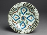 Dish with lobed medallions and leaves