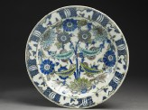 Dish with floral decoration (EA1978.1483)