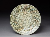 Dish with hexagons