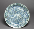 Dish with Chinese lion dog