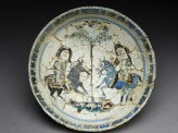 Bowl with a pair of riders (EA1978.2254)