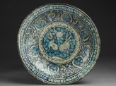 Dish with hares against a foliate background (EA1978.2316)