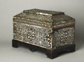 Casket with geometric and foliate decoration (EA1980.146)