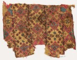 Patchwork fragment with quilting, possibly from a bag (EA1984.130)