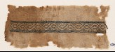 Textile fragment with stylized vine (EA1984.162)