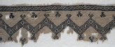 Textile fragment with chevrons and interlacing scrolls (EA1984.168)