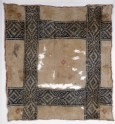 Cloth with diamond-shapes and hooks (EA1984.173)