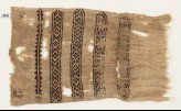 Textile fragment with diamond-shapes and triangles (EA1984.183)