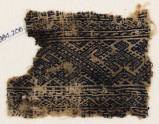 Textile fragment with linked hooks (EA1984.206)