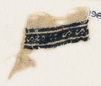 Textile fragment with band of S-shapes (EA1984.213)