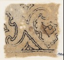 Textile fragment with palmettes (EA1984.226)