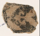 Textile fragment with chevron and trefoil peak (EA1984.283)