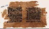 Textile fragment with diamond-shapes and S-shapes (EA1984.294)
