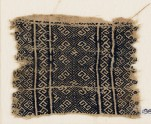 Textile fragment with diamond-shapes and S-shapes (EA1984.297)