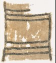 Textile fragment with bands of S-shapes (EA1984.319)