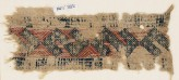 Textile fragment with linked S-shapes and crosses (EA1984.332)