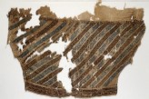 Textile fragment from a trouser leg