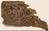 Leather fragment with interlace, possibly from a book cover (EA1984.361.c)