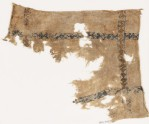Textile fragment with S-shapes and diamond-shape borders (EA1984.399)