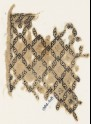 Textile fragment with grid of lozenges (EA1984.418)